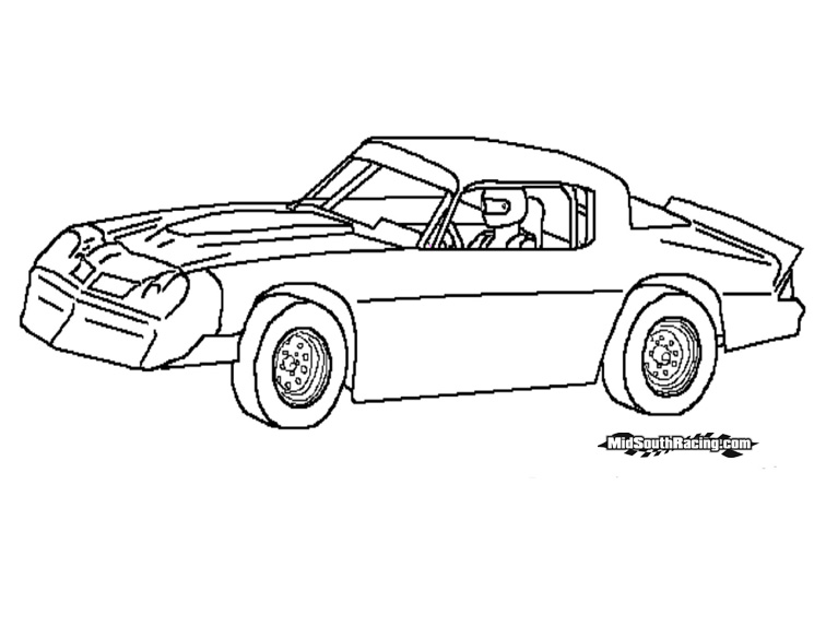 Dirt Car Coloring Pages : Dirt modified race car coloring pages